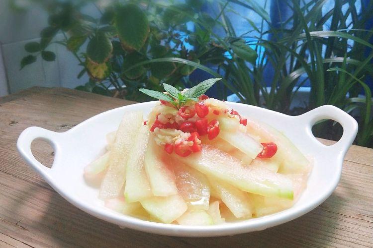 清凉解暑的凉菜——凉拌西瓜皮