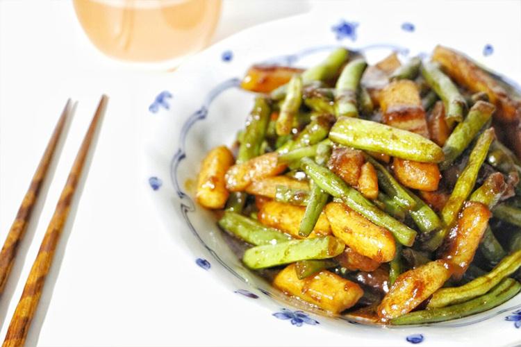 超级下饭的,刀豆土豆,也叫做四季豆土豆