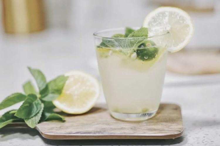 夏日神仙饮品,清凉一下的青柠薄荷饮