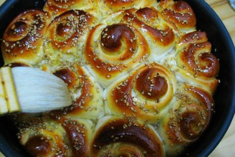 一个蜂蜜面包,轻松解决早餐