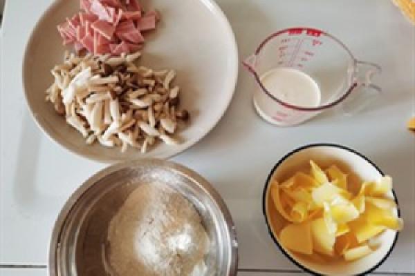 香浓的法式味道——奶油蘑菇汤第一步