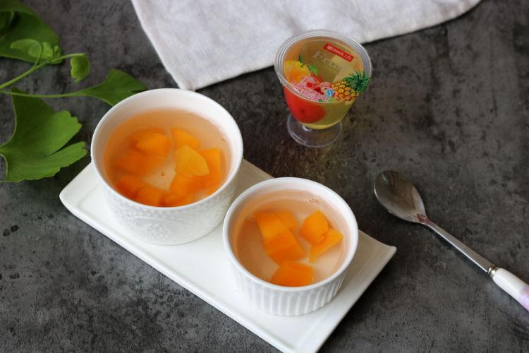 自制水果果冻——白凉粉版