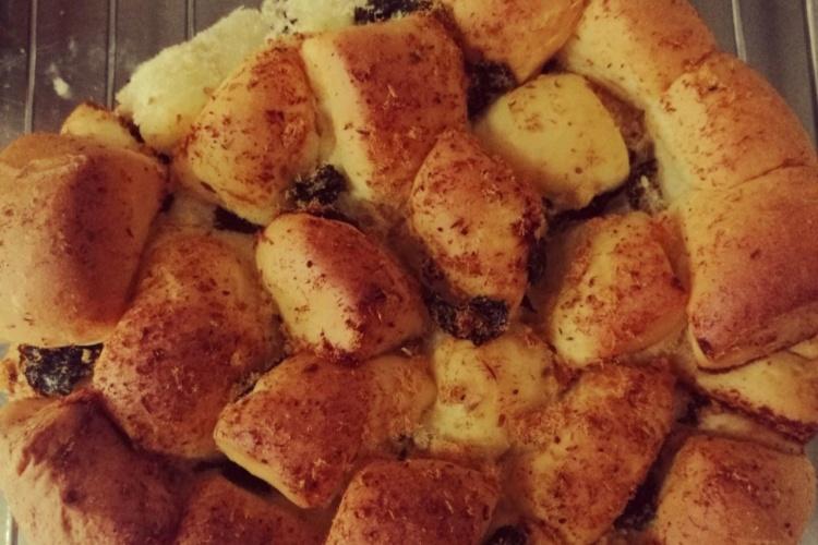 手撕肉松面包,喷香美味口口留香