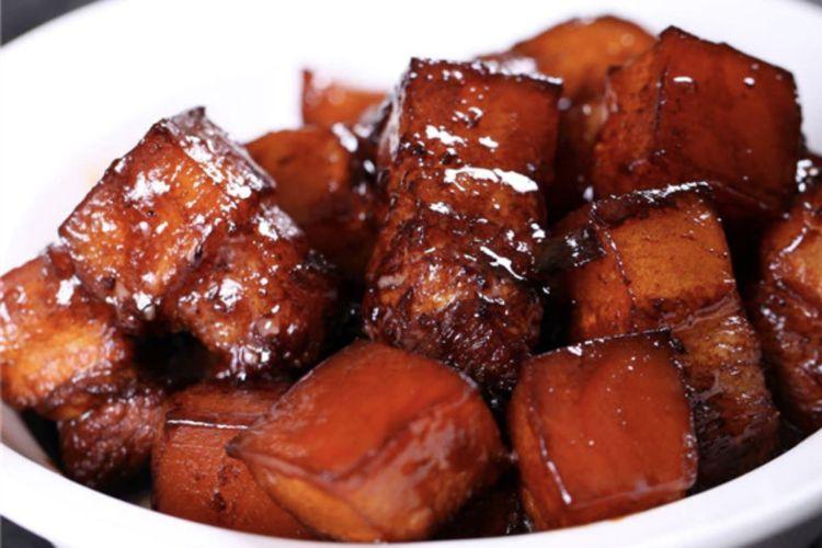 超简单的电饭锅红烧肉,入口即化