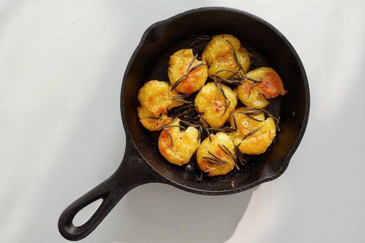 焦香酥脆的烤土豆