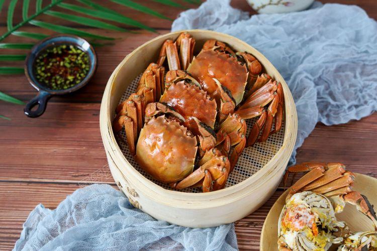 清蒸大螃蟹,螃蟹最好吃的做法