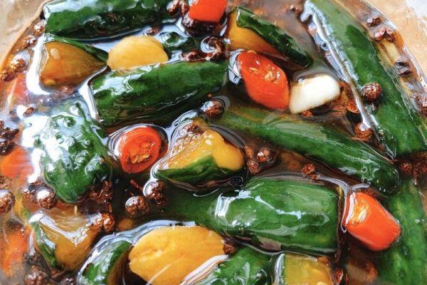 怎样腌制黄瓜咸菜呢?现在就告诉你秘方吧第十步