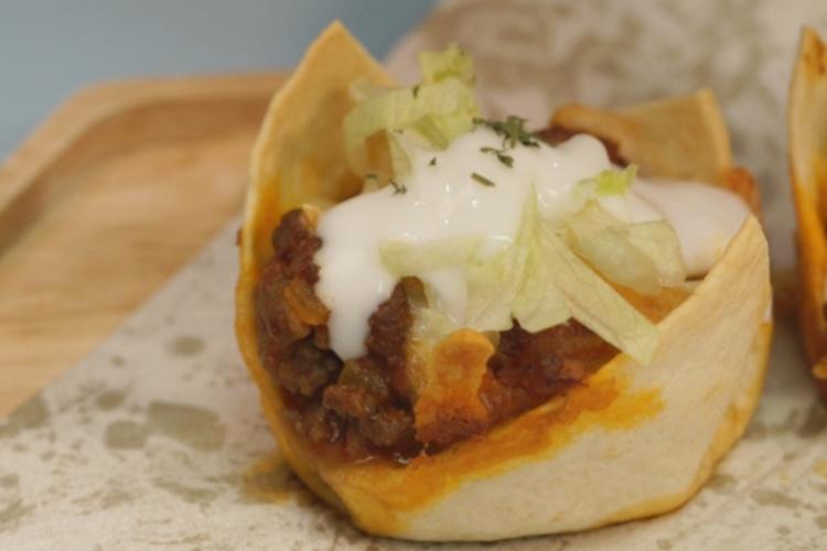 墨西哥风味的牛肉玉米薄饼,饱满多汁,家庭派对走起~