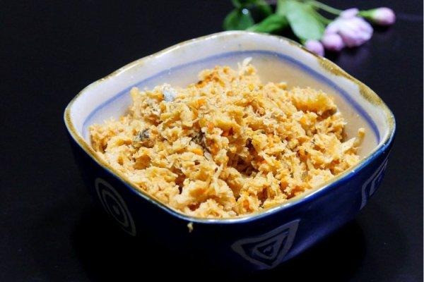 """灌汤包中的""""爱马仕""""——蟹黄汤包第三步"""