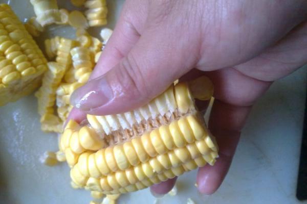 香糯晶莹的玉米珍珠肉圆第三步