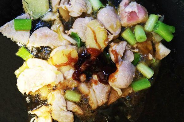 东北家常菜之猪肉白菜炖粉条,带你感受东北浓厚的乡土气息第六步