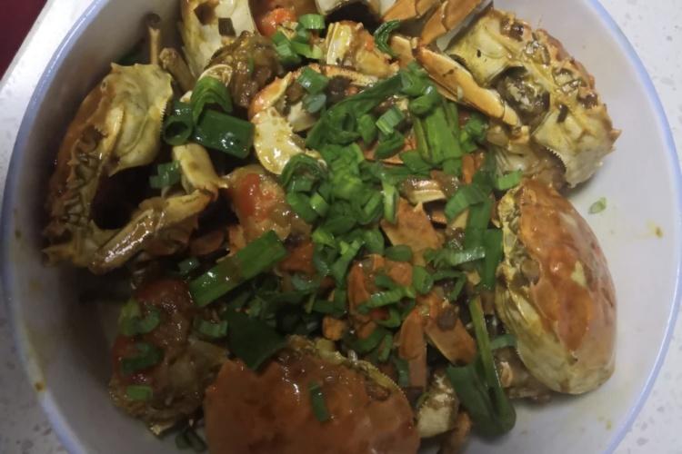 家常红烧螃蟹,随时随地吃海鲜