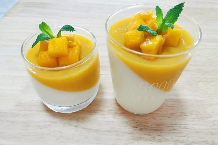 芒果酸奶果冻,只为你传达它的甜蜜
