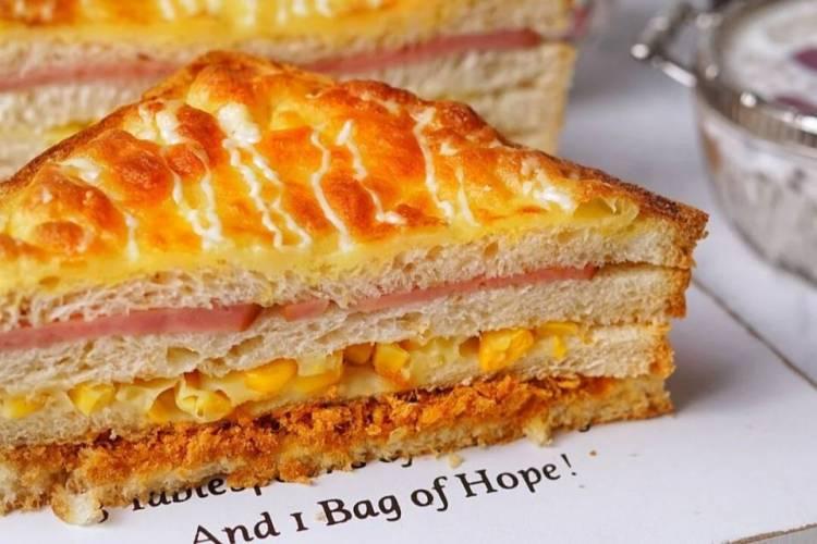 意大利面奶酪三明治让你元气满满一整天