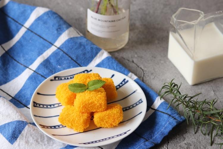 简单易学,奶香浓郁的脆皮鲜奶,无油低脂版,用烤箱就可以做出来
