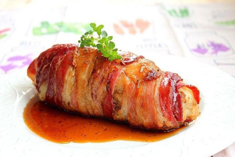 自制烤肉之土豆培根烤肉,带你感受动漫中的美食