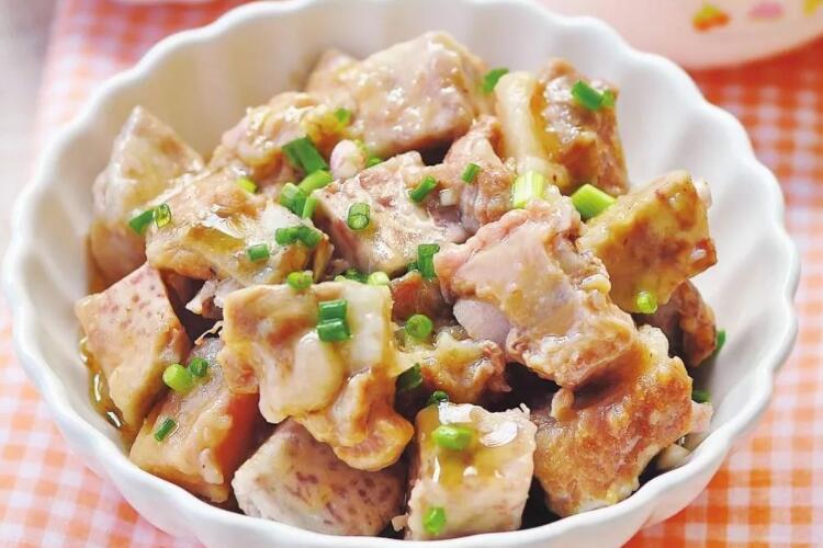 芋艿排骨,怎么做都好吃,不止好吃还很简单