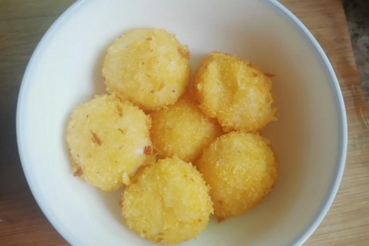 超简单好吃的炸汤圆