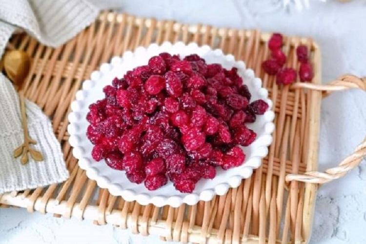 好吃的蔓越莓干,做法其实很简单