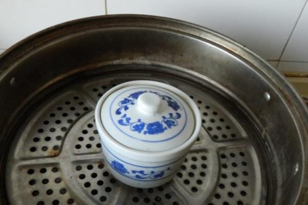 超级经典的广东糖水之木瓜炖奶第五步