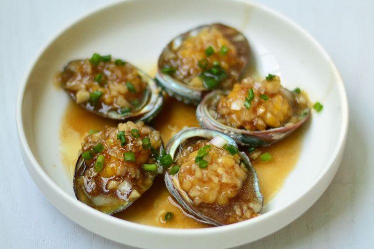 天香鲍鱼,味道鲜美,鲍鱼肉嫩滑