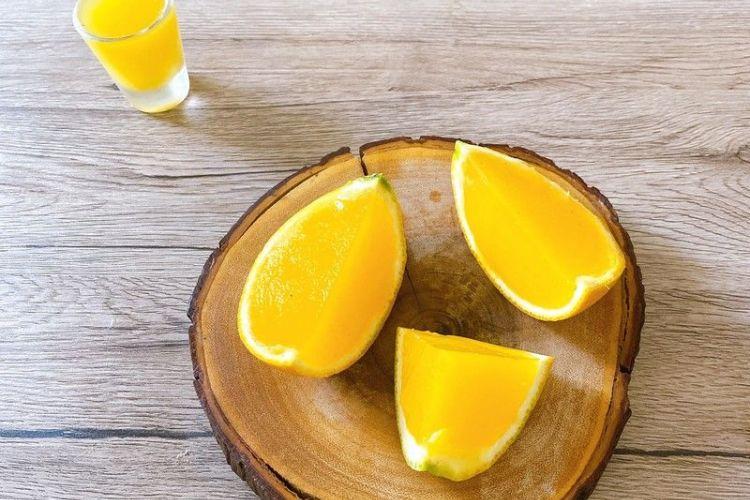 冰糖橙子冻,每吃一口都是种享受