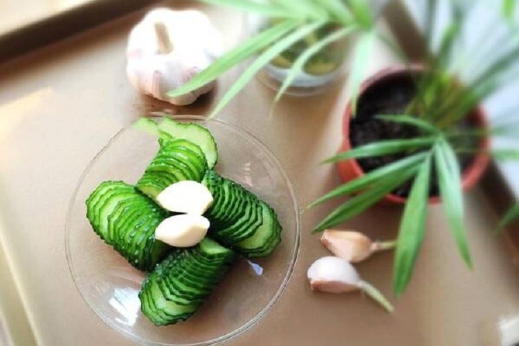 夏季小菜甜酸乳瓜,让夏季更加清凉