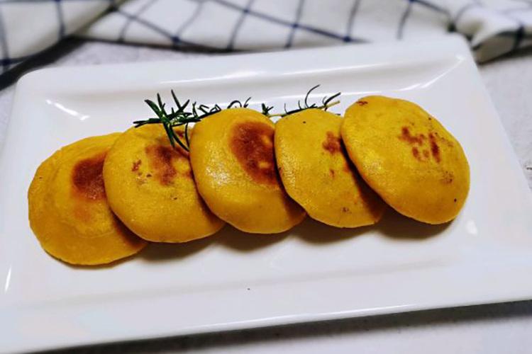 玉米馅饼,保持粗粮原本的味道