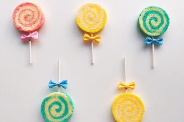 棒棒糖蛋糕,让你一秒回到童年,让我们大家都保留一颗童心吧第十四步