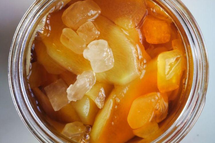 醋泡姜,夏天开胃下饭的神器