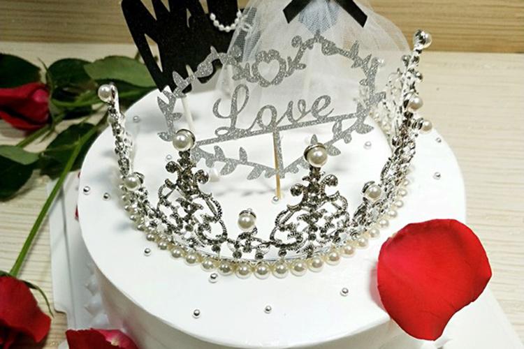 顏值味道雙在線的皇冠蛋糕,不心動嗎?
