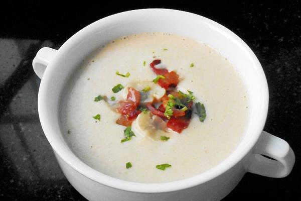 在家简单get西式经典奶油蘑菇浓汤第十步