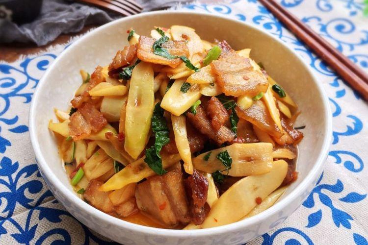 非常喜欢吃的一道下饭菜,竹笋小炒肉