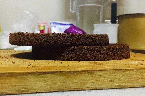 黑天鹅蛋糕,实力与颜值并存第二步