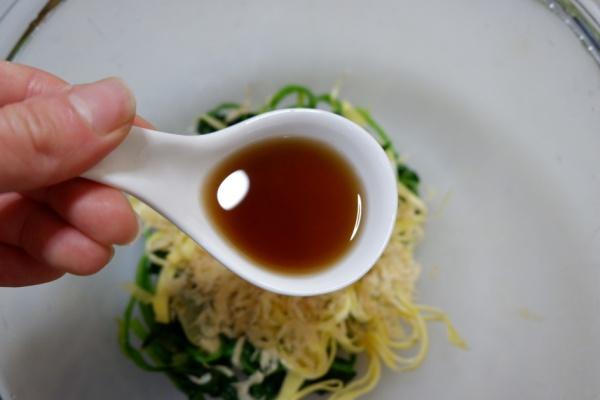 虾皮菠菜,好吃又爽口,我一个人就可以干掉一盘儿第九步