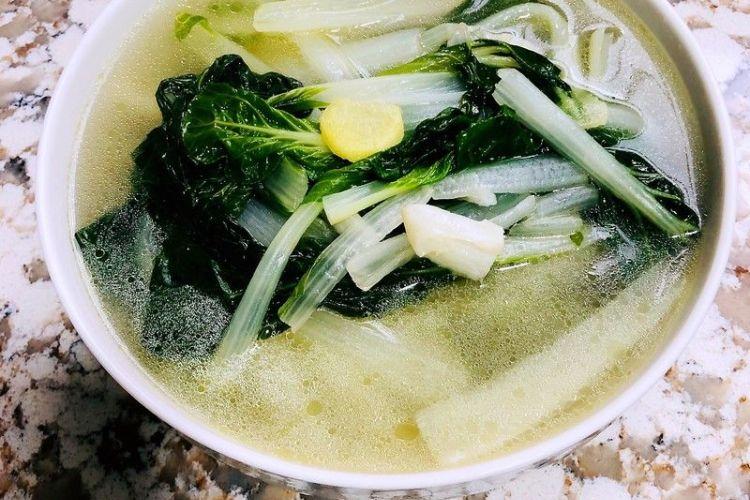 小白菜汤,营养又美味