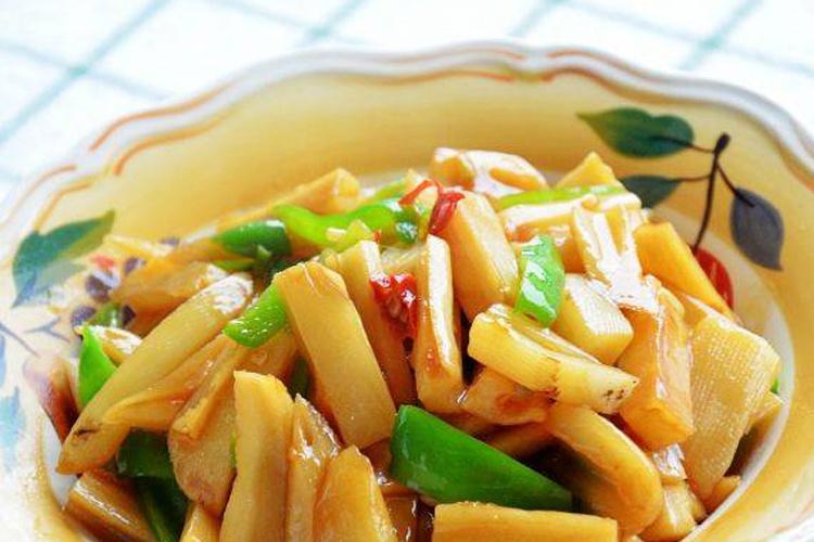 清脆爽口的快手菜——炝炒藕条