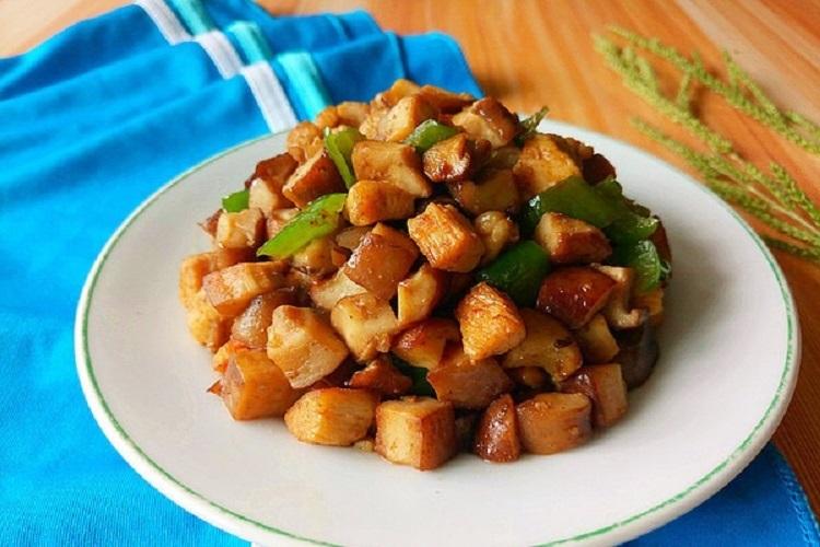 香菇雞肉丁,美味又營養的家常菜