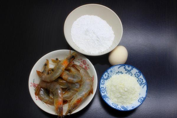 在家自制日式天妇罗油炸大虾第一步