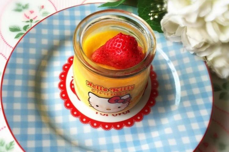 淡奶油布丁,开启你下午茶的美好食光