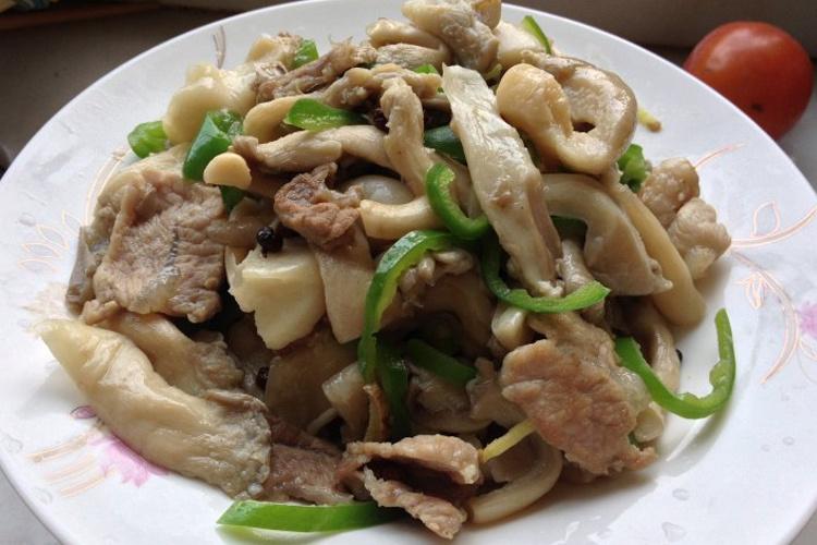 爱吃蘑菇的小伙伴千万不能错过的平菇肉片
