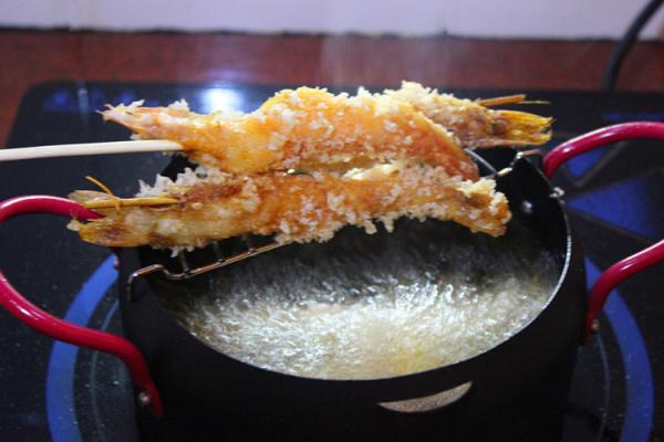 在家自制日式天妇罗油炸大虾第七步
