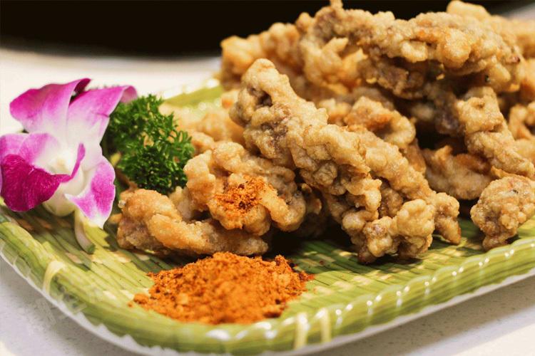 吃火锅必不可少的小零食——成都酥肉