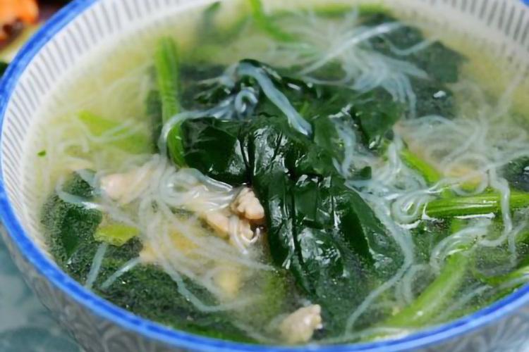 菠菜粉丝汤,用最简单的做法诠释食材本味