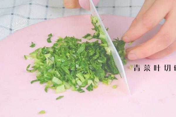 青菜南瓜面疙瘩,营养均衡的辅食第四步