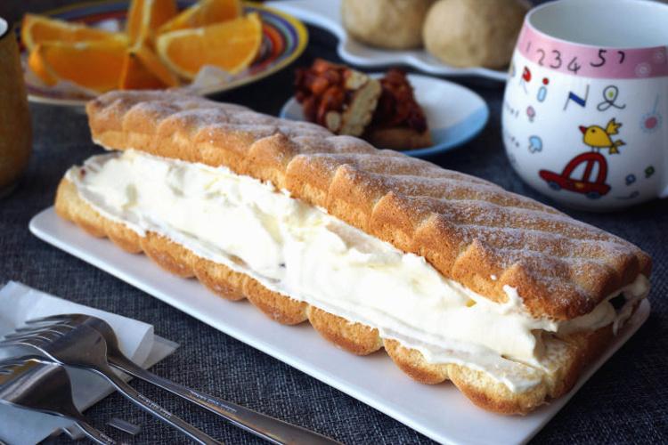 颜值很高的晒下午茶神器——淡奶油蛋糕