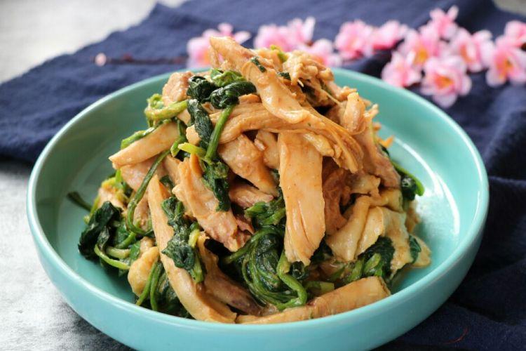 鸡肉菠菜,一道菜,瞬间打开你的食欲