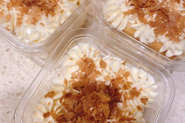 好吃美味的咸奶油蛋糕第九步