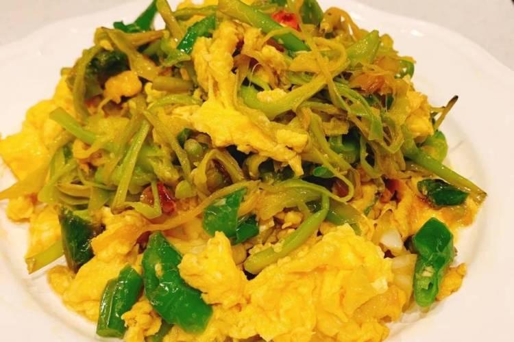 清爽美味的家常菜,一定不能错过黄花菜炒鸡蛋