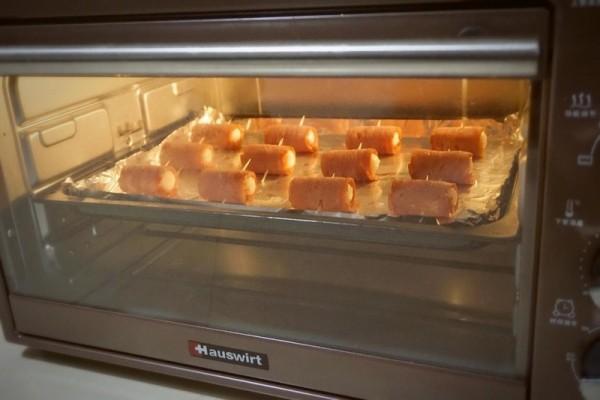 培根芝士年糕,每口都是浓浓肉香与芝香第九步